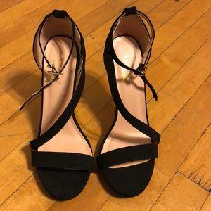 Black high heels!